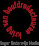 Kring van Hoofdredacteuren van hbo- en universitaire uitgaven Logo